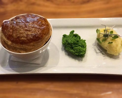 Beef & Guiness Pie